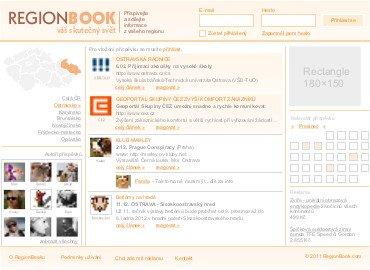 náhled webu Regionbook.com